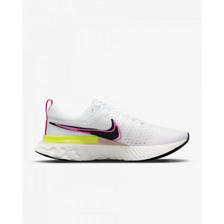 Nike Pantofi Alergare Barbati REACT INFINITY RUN FK 2 T WHITE/PINK FW'21