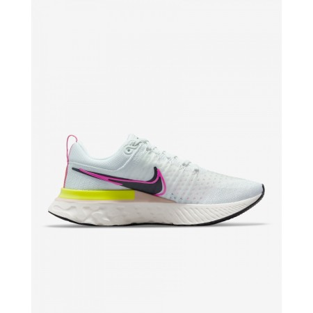 Nike Pantofi Alergare Dama REACT INFINITY RUN FK 2 T WHITE/PINK FW'21