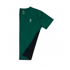 ON Tricou alergare barbati Performance-T Evergreen Black