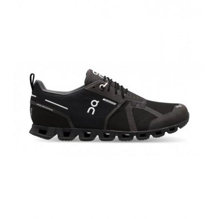 ON Pantofi alergare Barbati Cloud WATERPROOF BLACK LUNAR