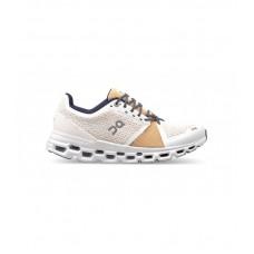 ON Pantofi alergare dama Cloudstratus White Almond