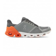 ON Pantofi alergare barbati Cloudflyer Grey Orange