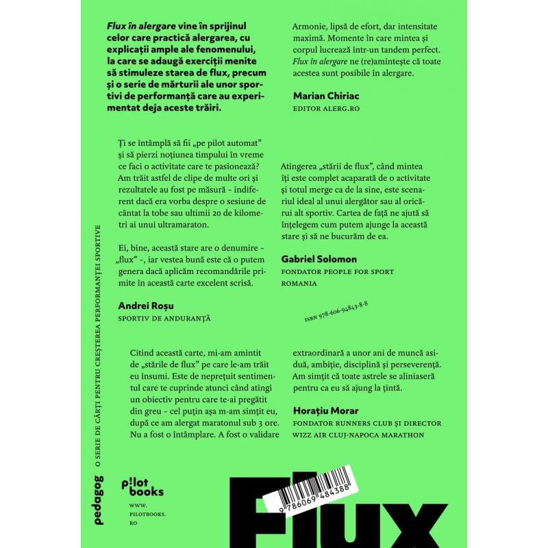 Carte: Flux în Alergare: Tehnici De Instrospecție Pentru O
