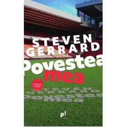 Carte: Povestea mea, de Steven Gerrard și Donald McRae