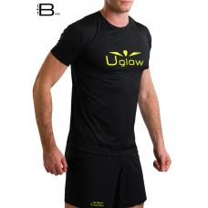 UGLOW-BASE | T-SHIRT-MAN | T3-BLACK