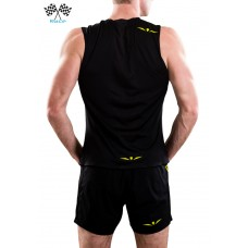 UGLOW-RACE | TOP TANK ZIP | TZIP2-BLACK
