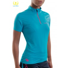 UGLOW-ULTRA | 1/2ZIP-WOMAN | 1/2ZIP1-SKYBLUE