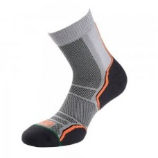 1000 Mile TRAIL SOCK TWIN PACK - BARBATI - GREY