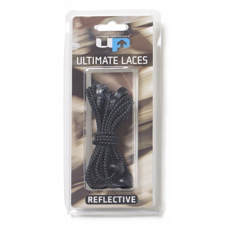 ULTIMATE PERFORMANCE Elastic Laces - Black Reflective