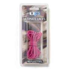 ULTIMATE PERFORMANCE Elastic Laces - Hot Pink Reflective