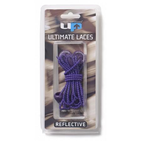 ULTIMATE PERFORMANCE Elastic Laces - Purple Reflective