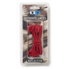 ULTIMATE PERFORMANCE Elastic Laces - Red Reflective