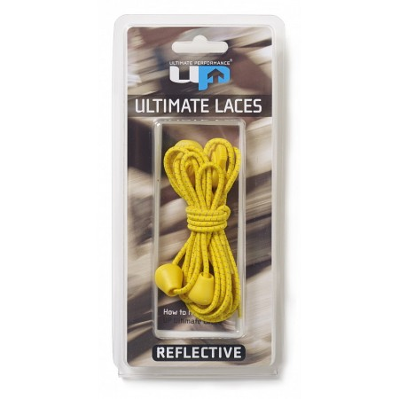 ULTIMATE PERFORMANCE Elastic Laces - Yellow Reflective