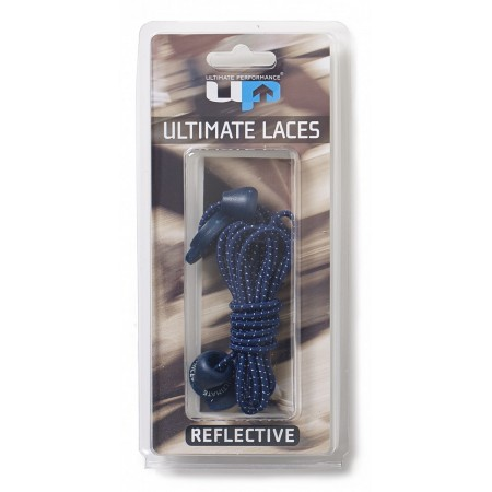 ULTIMATE PERFORMANCE Elastic Laces - Navy Reflective
