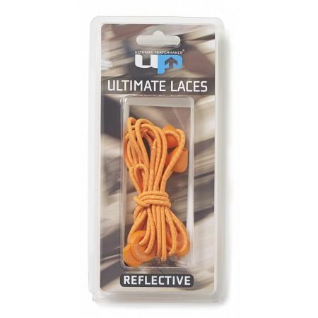 ULTIMATE PERFORMANCE Elastic Laces - Orange Reflective