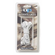ULTIMATE PERFORMANCE Elastic Laces - White Reflective