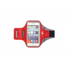 ULTIMATE PERFORMANCE RIDGEWAY PHONE HOLDER ARMBAND RED