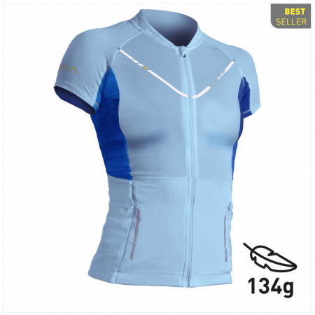 WAA ULTRA CARRIER WOMEN SHORT SLEEVES 3.0 Glacier blue