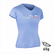 WAA ULTRA LIGHT T-SHIRT WOMEN MULTICOLOR LOGO Blue