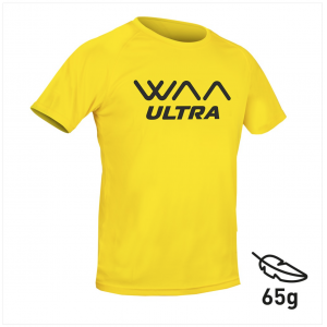 "WAA ULTRA LIGHT T-SHIRT ""WAA ULTRA"" Yellow"