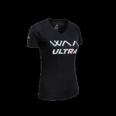 WAA WOMEN'S ULTRA LIGHT T-SHIRT 3.0 Black Rainbow
