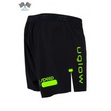 UGLOW-RACE | SHORT SPEED AERO 2in1 | S2 BLACK YELLOW