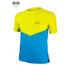 UGLOW-RACE | T-SHIRT SPEED AERO | TSA2 YELLOW SKYBLUE
