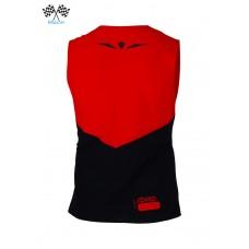 UGLOW-RACE | WIDE TOP TANK SPEED AERO | SA3 RED BLACK