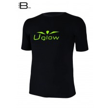UGLOW-BASE | T-SHIRT-MAN | TS3 BLACK/YELLOW