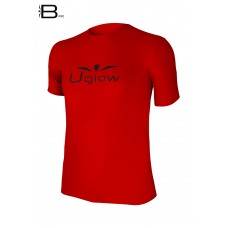 UGLOW-BASE | T-SHIRT-MAN | TS5 RED BLACK