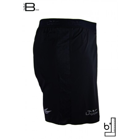 UGLOW-BASE | SHORT 6 - MAN | HIVIZ BLACK