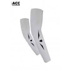 UGLOW-ACCESSORIES | ARM WARMER SUMMER-MAN | AWS3 WHITE BLACK