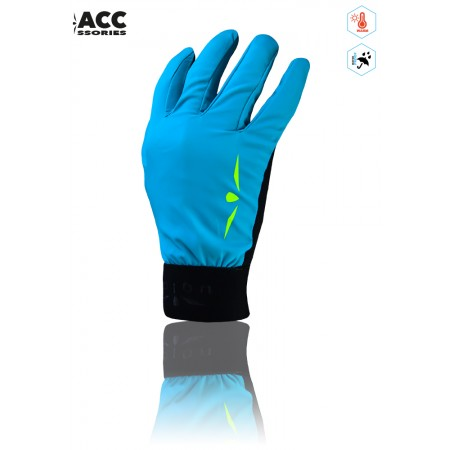 UGLOW-ACCESS | THERMO GLOVES WP | SKYBLUE