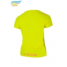 UGLOW-SL | T-SHIRT SUPER LIGHT WOMAN | TS3 YELLOW PINK