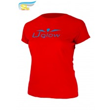 UGLOW-SL | T-SHIRT SUPER LIGHT WOMAN | TS4 RED BLUE
