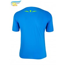 UGLOW-SL | T-SHIRT 40D | SKYBLUE YELLOW