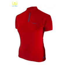 UGLOW-ULTRA | 1/2ZIP SUMMER WOMAN | 1/2ZIP4-RED BLUE