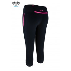 UGLOW-RACE | 3/4 TIGHT CAPRI | C2 | BLACK PINK