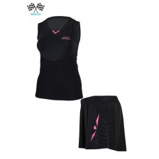 UGLOW SPEED AERO SET WOMAN BLACK PINK