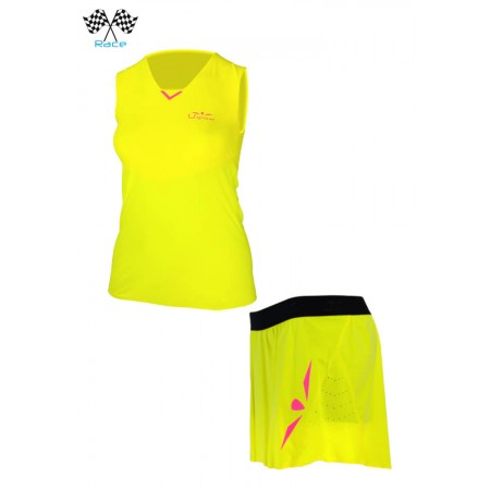 UGLOW SPEED AERO SET WOMAN YELLOW PINK