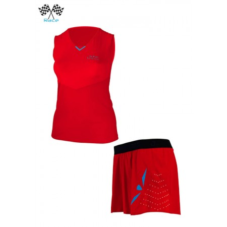 UGLOW SPEED AERO SET WOMAN RED BLUE