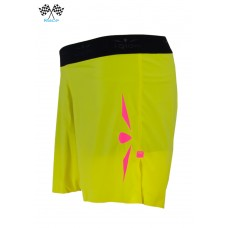 UGLOW-RACE | SHORT SPEED AERO 2in1 WOMEN | S3 YELLOW PINK
