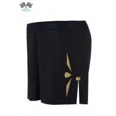 UGLOW-RACE | SHORT SPEED AERO 2in1 WOMEN | S5T BLACK GOLD - TANGA