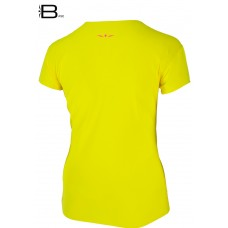 UGLOW-BASE | T-SHIRT-WOMAN | MP19 TS4 YELLOW PINK