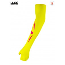 UGLOW-ACC | ARM WARMER WINTER-WOMAN | AWW3 YELLOW PINK
