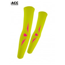 UGLOW-ACCESSORIES | ARM WARMER SUMMER-WOMEN | AWS3 YELLOW PINK