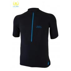 UGLOW-ULTRA | 3/4ZIP-MAN | 3/4ZIP1-BLACK BLUE