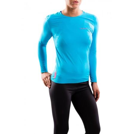 UGLOW-BASE T-SHIRT LONG SLEEVES TLS1 WOMAN | SKYBLUE