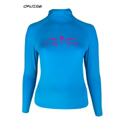 UGLOW HOODED SPORT H2 WOMAN | SKYBLUE