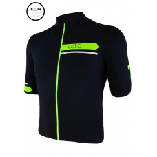 UGLOW JERSEY TOUR J1 MAN | BLACK YELLOW